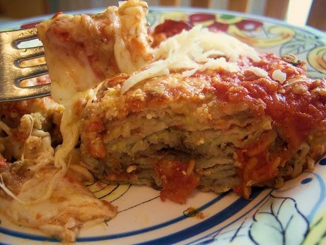 Cheesy Eggplant and Ricotta Casserole | Friday Favorites | Pinterest