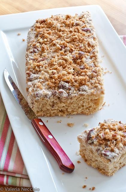 Buttermilk coffee cake - Torta al latticello
