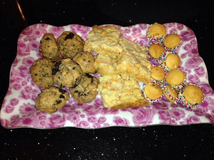 ... Cookies, Butterscotch Shortbread Bars, & PB Nutella Banana Nilla