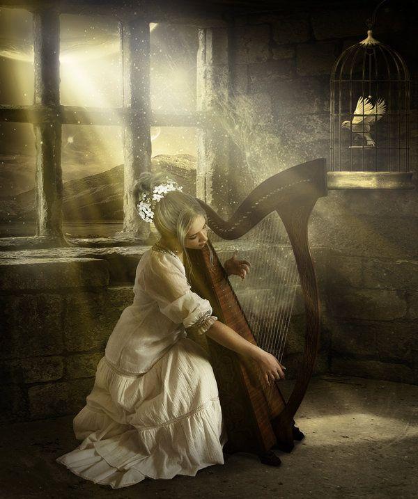 Elena Dudina~  Harp...