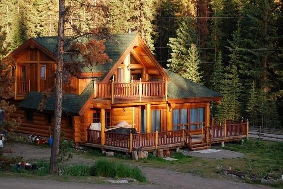 Beautiful Log House Cottages Cabins Mini Houses Pinterest