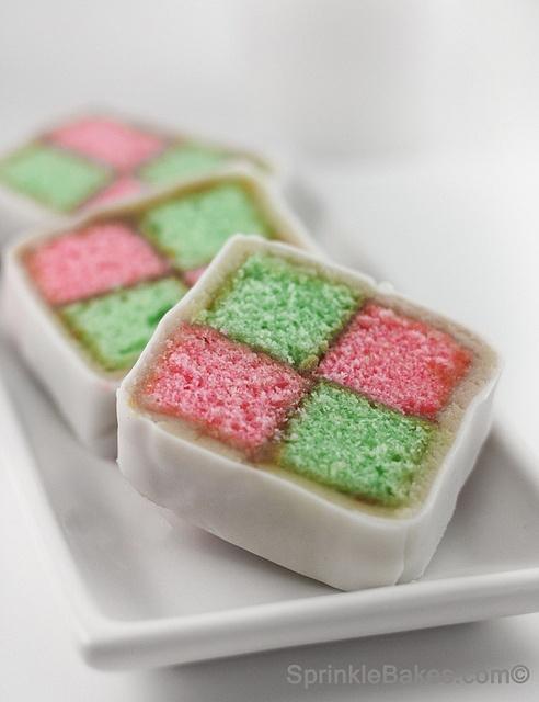 Battenburg cake | Sweet endings. | Pinterest