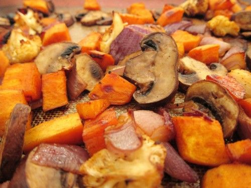 mexican-spiced roasted mushrooms & yams | Get in my belly!!!! | Pinte ...