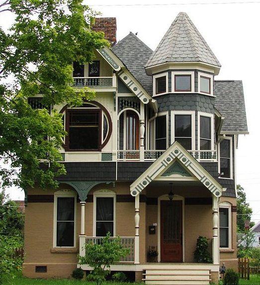 Barber House : George F. Barber homes Home- Exterior Pinterest