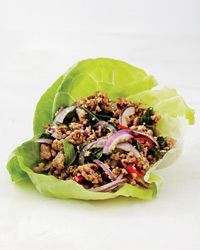 Pork Larb Lettuce Wrap Recipe: At Plum Alley in Salt Lake City, chef ...