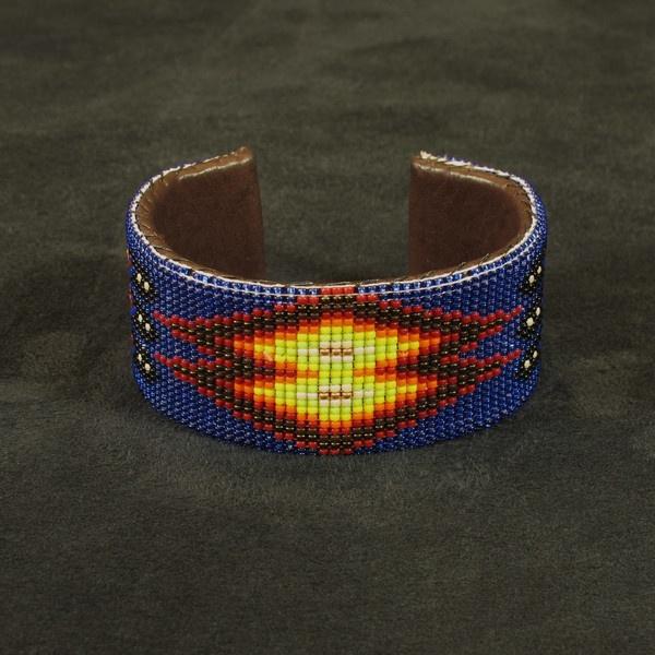 american beaded bracelet beadwork