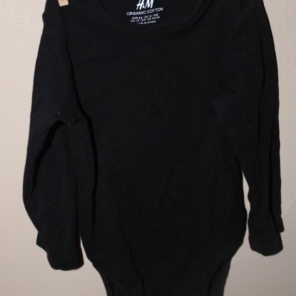 Blank Black Bodysuit (18-24) Apparel: Infant And