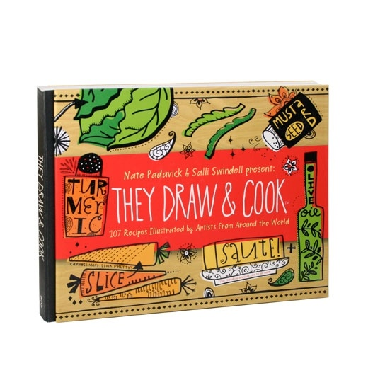 charming illustrated cookbook.