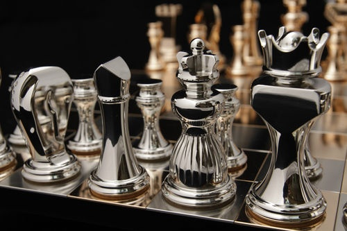 Really nice high quality chess set things i like pinterest - Chess nice image ...