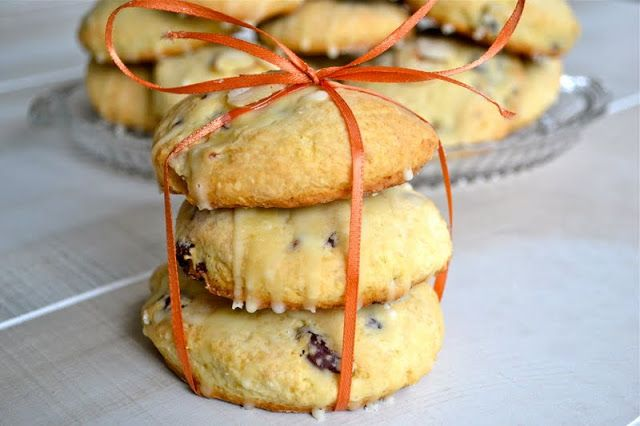 Cranberry Almond Scones - Mother Thyme