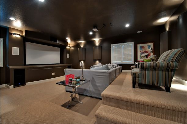 Movie Theater Living Room Ivory Homes Ideas For The Home Pinter