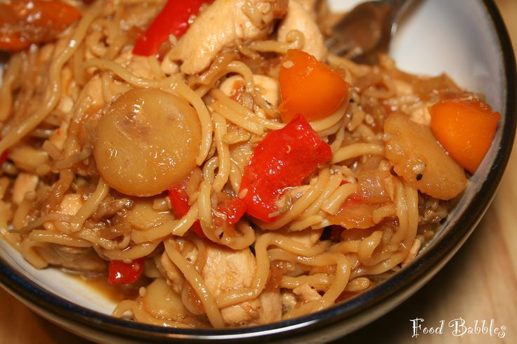 Spicy Sesame Udon Noodles with Chicken (or Beef or Shrimp or Tofu or ...