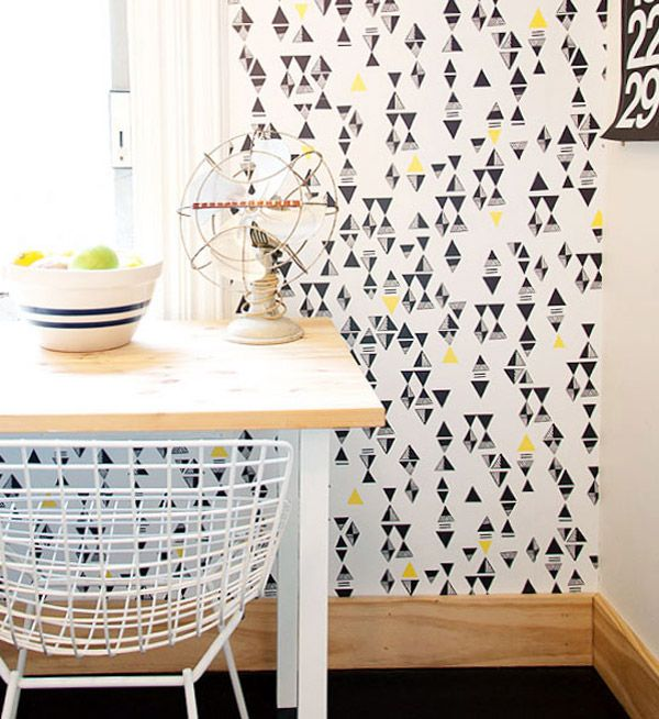 removable wallpaper apartment home pinterest