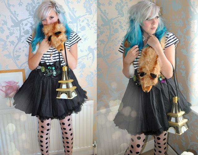 Petit Papillon De Nuit - UK Alternative Fashion Blog: Paris Fox