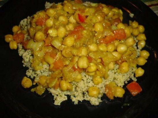Butter Chickpea Curry Recipe — Dishmaps