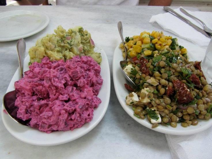 Greek Potato Salad With Feta Cheese, Kalamata Olives ...