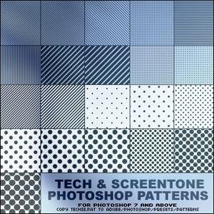 Photoshop Patterns | Shapes 4 Free