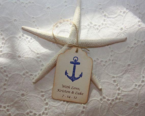 Place Card Ideas - Nautical Wedding Ideas