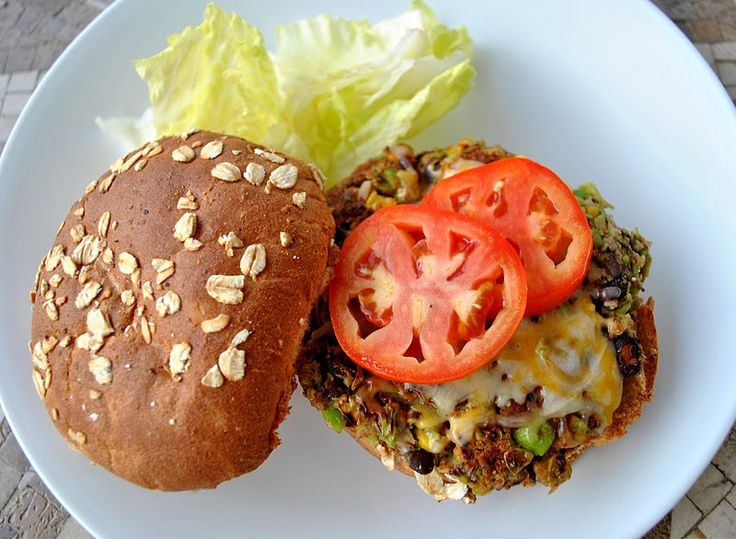 Edamame burger   For the Home   Pinterest