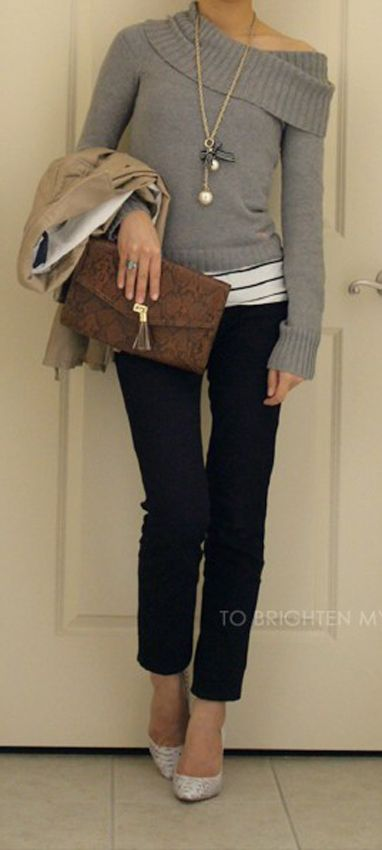 Cute, casual look...