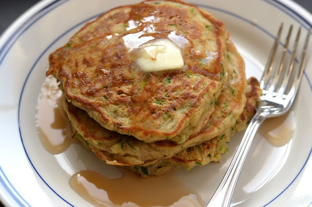Type A Kitchen: Zucchini Bread Pancakes | breakfast | Pinterest