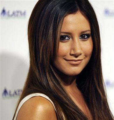 Ashley Tisdale Dark Hair Color  The Little Things   Pinterest