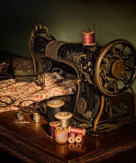 Sewing machines are no longer built like they once were, my aunt has one from the early 1900's and it is still full functional and works better then most new ones.