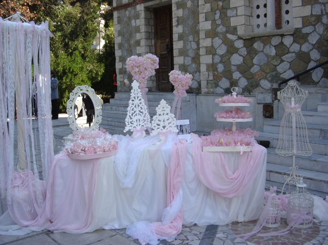 Baptism decoration baptism pinterest for Baby girl baptism decoration ideas