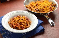 Mueller's Pasta | Recipes | Southwest Sirloin Pasta Skillet