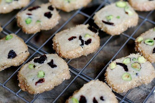 pistachio cranberry cookies | Food. The Good Stuff. | Pinterest
