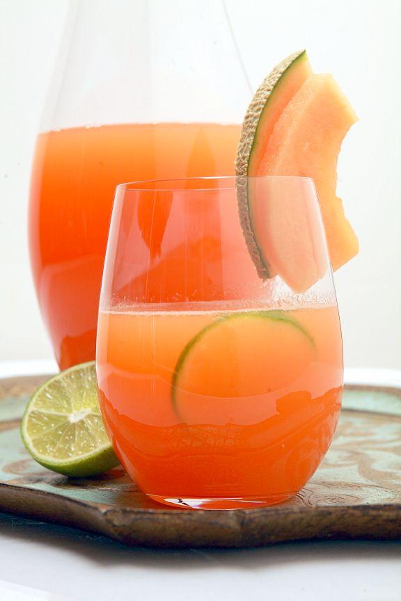 Cantaloupe Agua Fresca Recipe — Dishmaps