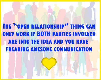Open dating relationship definition