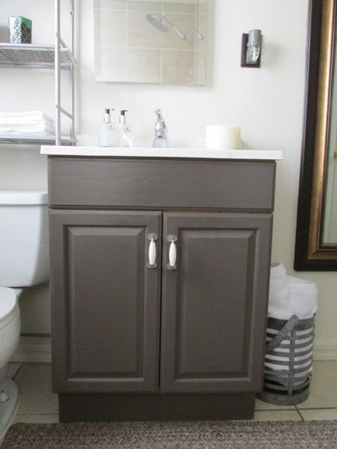 Hand Painted Cabinet By Valspar Home Pinterest