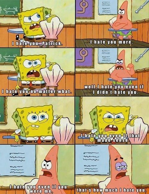 Cute spongebob quotes