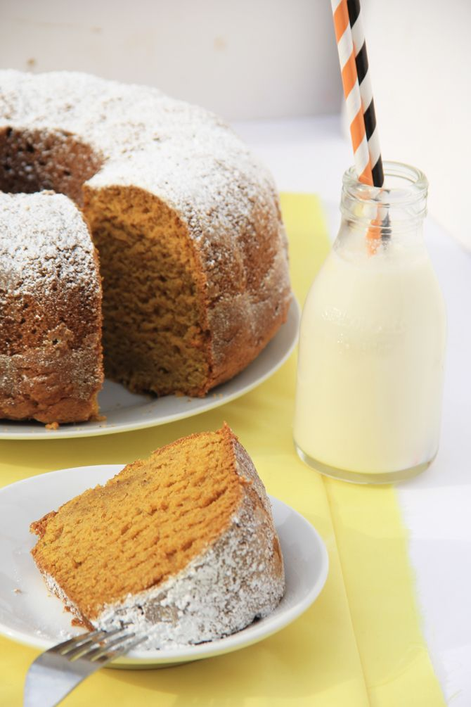 Spiced Pumpkin Bundt Cake - | Recipes | Pinterest