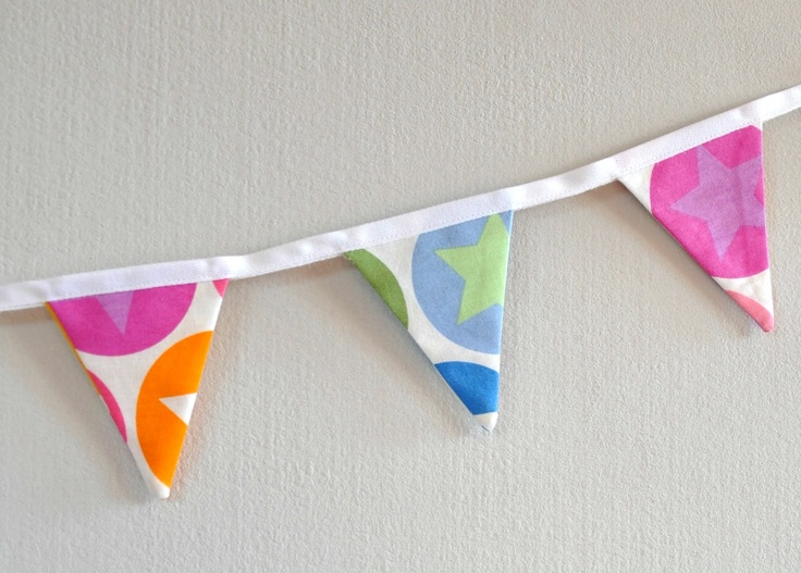 string pennant flags