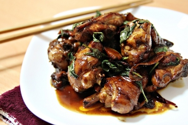 Stir-fried Basil Chicken | Eat, Drink, & be Merry! | Pinterest