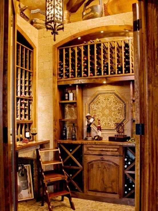 my wine room