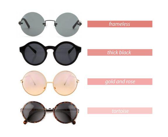trend crush: round sunglasses