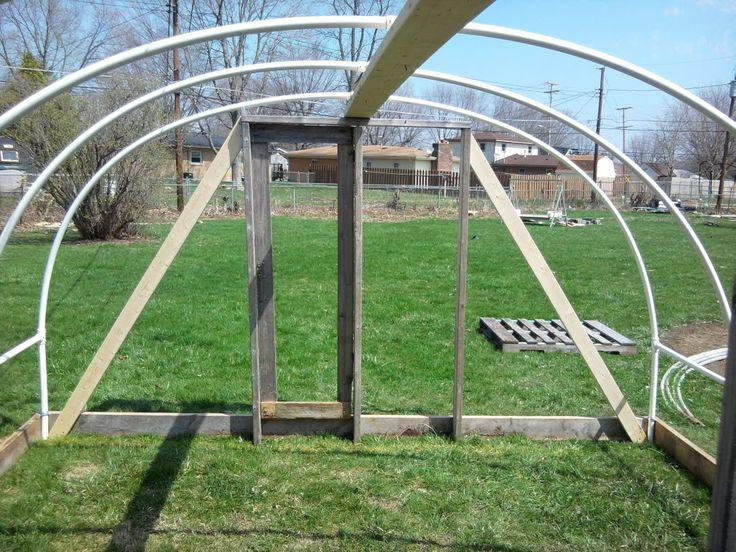 diy pvc greenhouse greenhouse pinterest