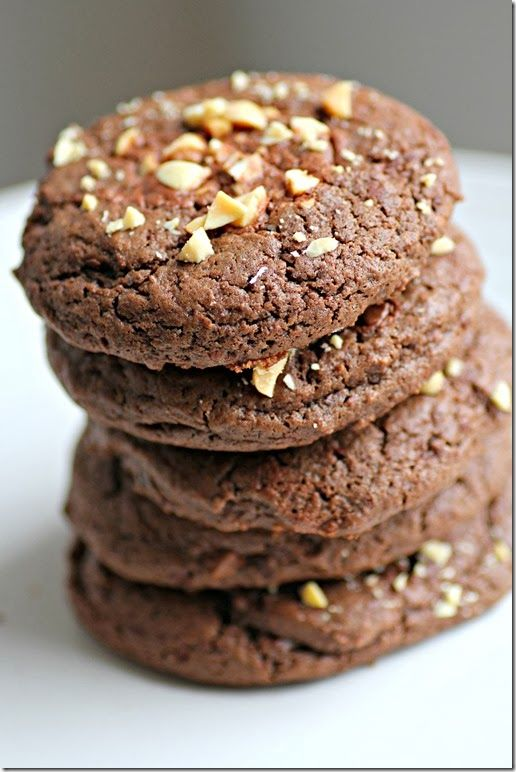 Triple Chocolate Peanut Butter Cookies | Best PEANUT BUTTER Recipes ...