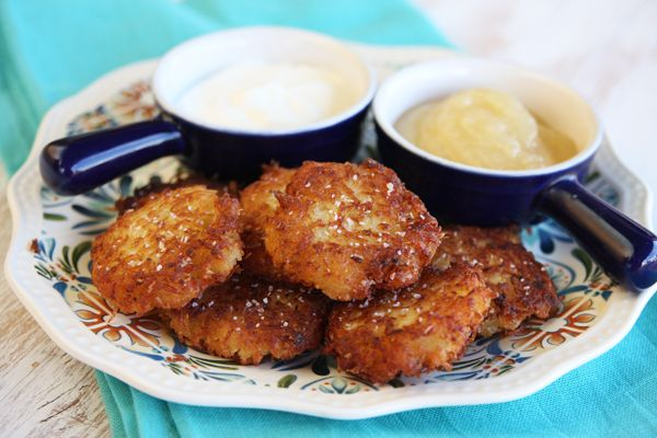 Crispy Yukon Gold Latkes [Our Best Bite] | Food | Pinterest