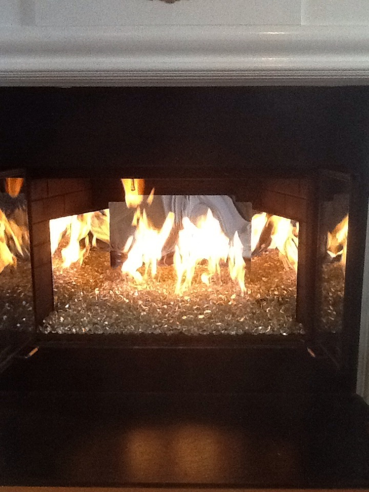 beautiful contemporary vented fireplace the stainless