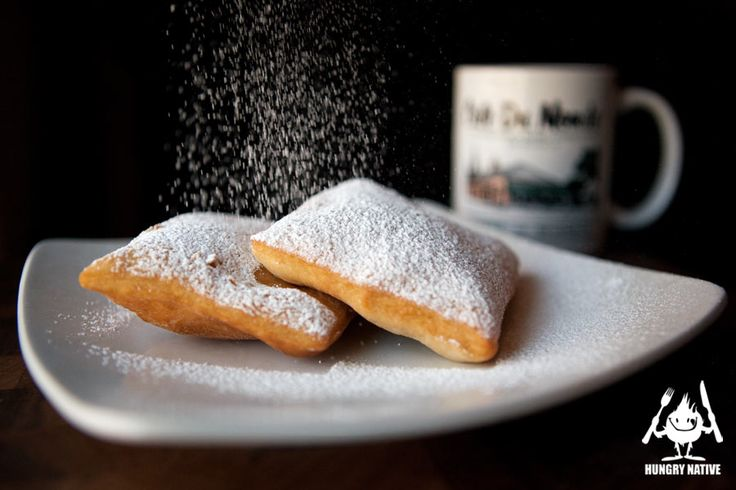Baked Beignets With Chicory Coffee Sauce Recipes — Dishmaps