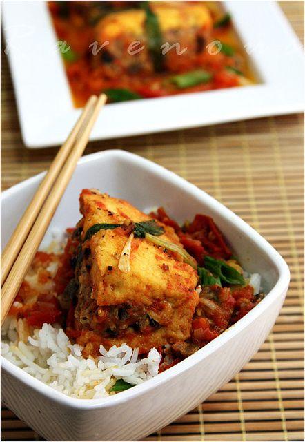 Braised Stuffed Tofu - Dau Hu Nhoi Thit | Tofu | Pinterest