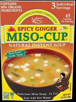 ... Miso-Cup® - Trail Cooking & The Outdoors tofu and vegetables packed