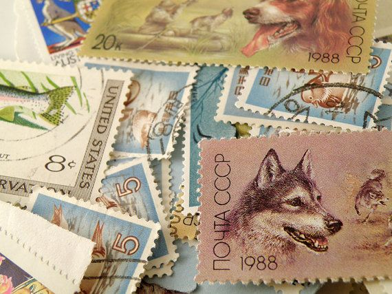 Crafts Using Postage Stamps