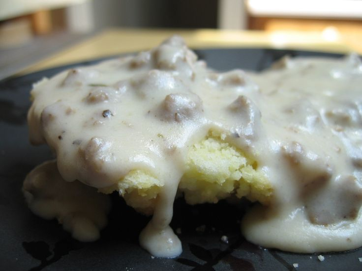 Southern-style Sausage Gravy for biscuits