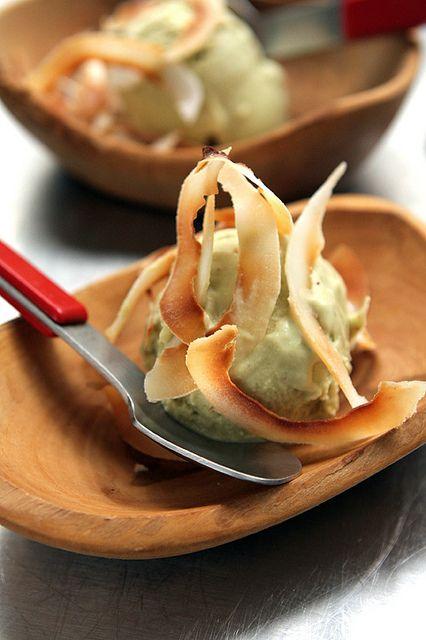 Avocado Coconut Ice Cream - For Dairy Free, use additional coconut ...