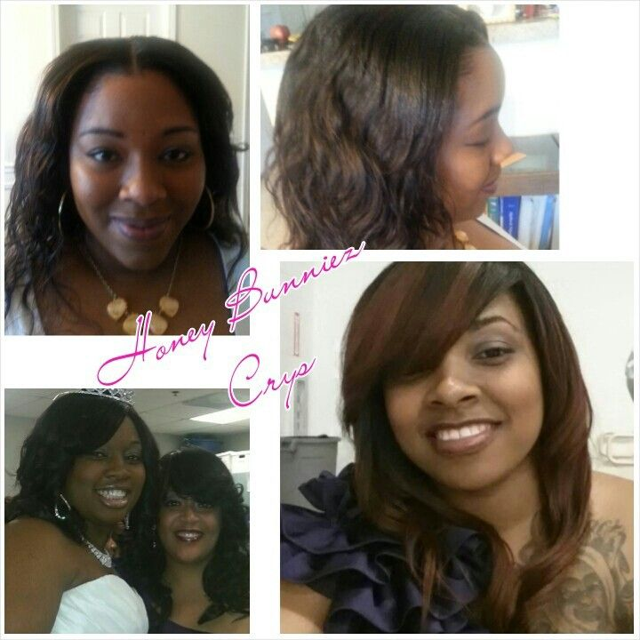Sew ins   African American Protective Hair Styles by Crys   Pinterest